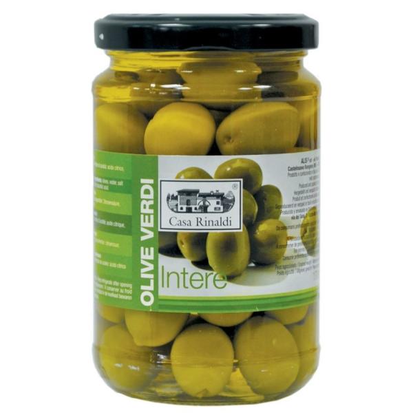 Оливки консервированные Casa Rinaldi с косточкой