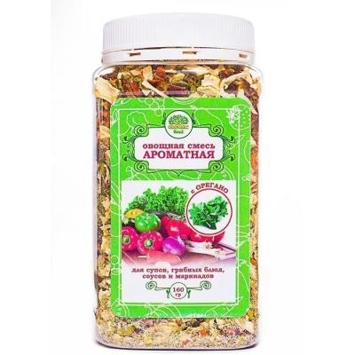 Овощная смесь Organic food Ароматная с орегано