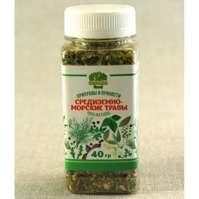 Средиземноморские травы Organic food