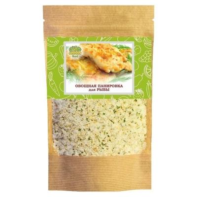 Овощная смесь Organic food для панировки рыбы