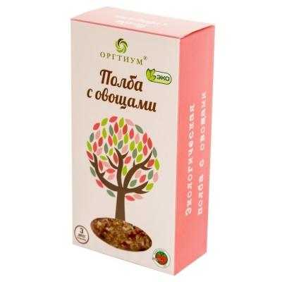 Полба Оргтиум экологическое с овощами