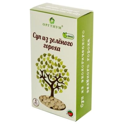 Суп Оргтиум из зеленого горошка (зеленый горошек экологический)