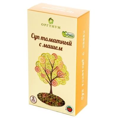 Суп Оргтиум с томатом и машем (маш экологический)