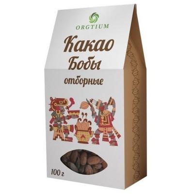 Какао-бобы Оргтиум Форастеро отборные