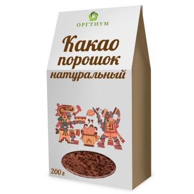 Какао-порошок Оргтиум натуральный