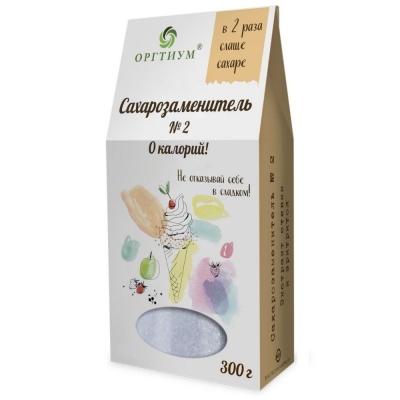 Сахарозаменитель №2 Оргтиум (в 2 раз слаще сахара)