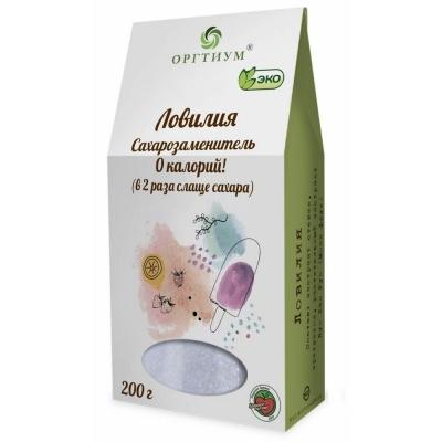 Ловилия (натуральные экстракты) Оргтиум (в 2 раз слаще сахара)
