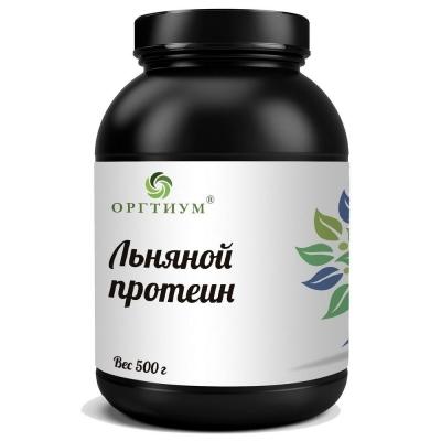 Протеин Оргтиум из семян льна