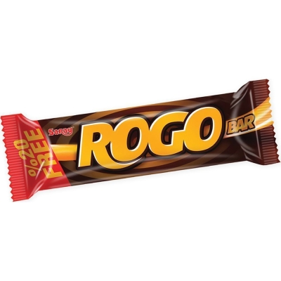 Батончик Saray Rogo Bar с начинкой карамель, нуга покрытый молочным шоколадом