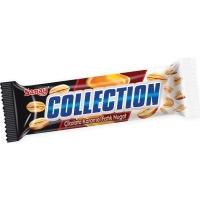 Батончик Saray Collection с начинкой карамель, арахис, нуга покрытый молочным шоколадом