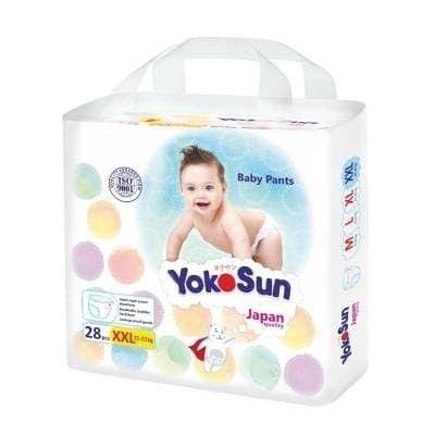 Подгузники-трусики YokoSun XXL (15-23 кг) 28шт