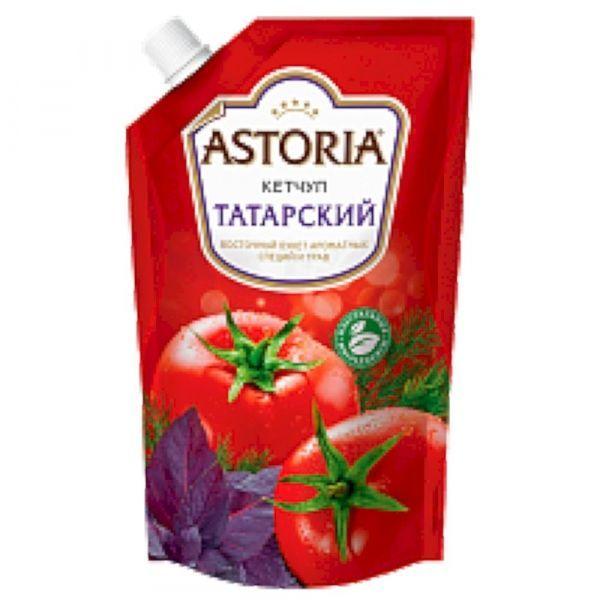 Кетчуп Астория Татарский с дозатором