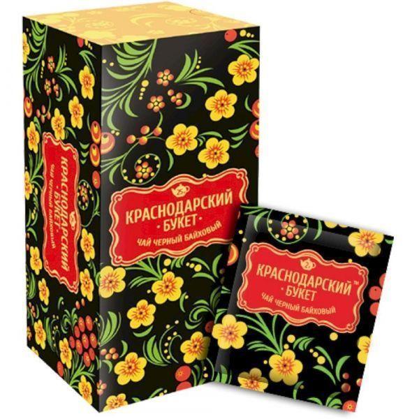 Чай Краснодарский букет черный байховый 25 пак. с/я