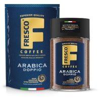 Кофе Fresco Doppio сублимированный с добавлением молотого пакет