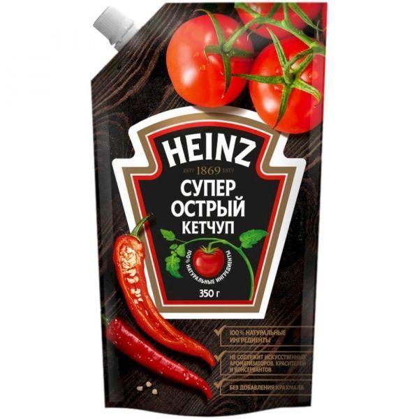 Кетчуп Хайнц Супер острый дой-пак