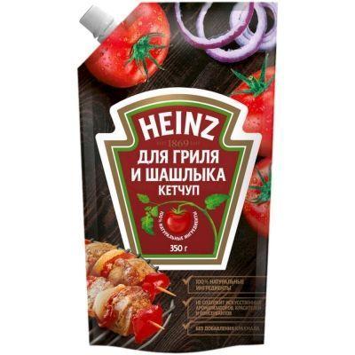 Кетчуп Хайнц Гриля и шашлыка дой-пак