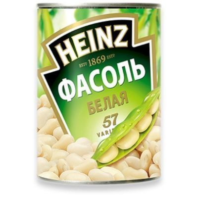 Фасоль Хайнц белая собственом соку ж/б