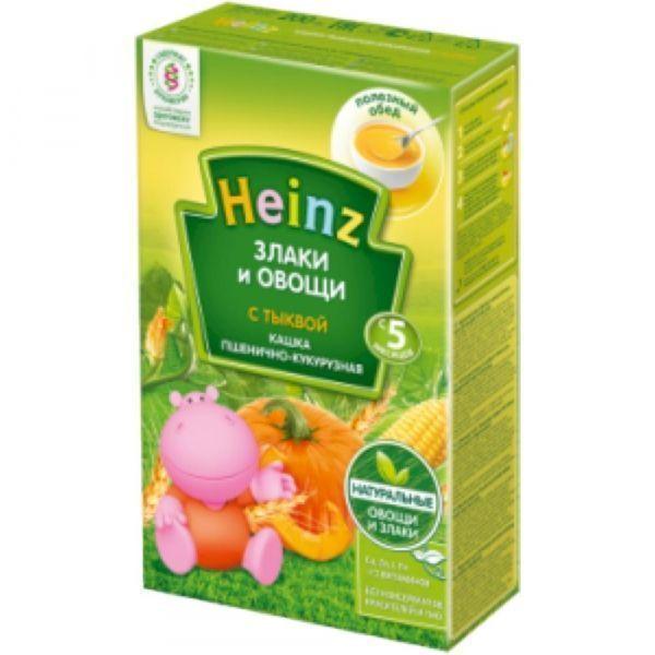 Каша Пшенично-кукурузная Хайнц с тыквой
