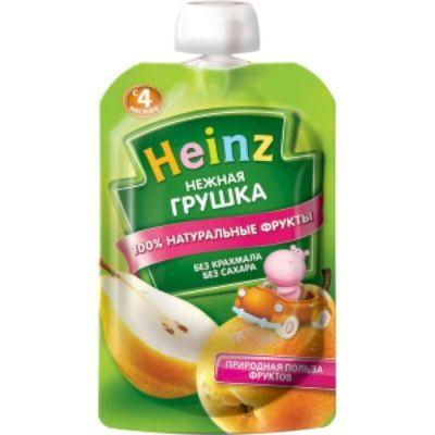 Пюре Хайнц Нежная грушка пауч