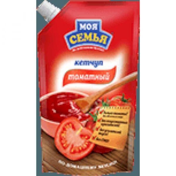 Кетчуп Моя семья Томатный дой-пак