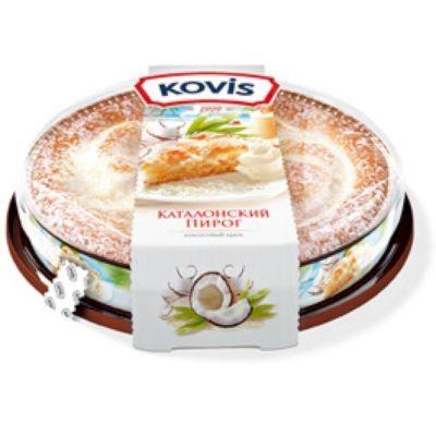 Пирог бисквитный Ковис кокосовый