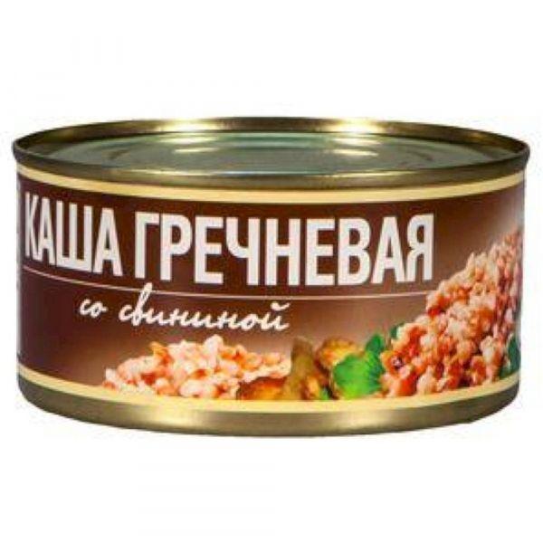 Каша Рузком гречневая со свининой