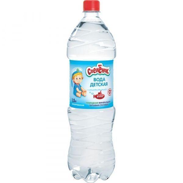 Вода Спеленок минеральная природная питьевая