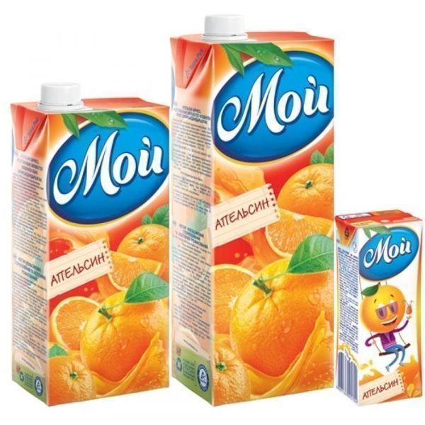 Нектар Мой апельсиновый