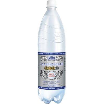 Вода минеральная Славяновская ПЭТ