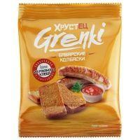 Гренки Хрустец со вкусом баварских колбасо