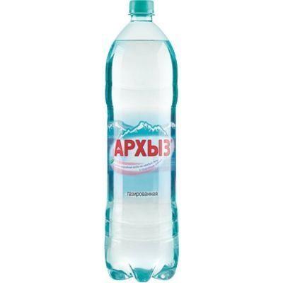 Вода минеральная Архыз газированная ПЭТ
