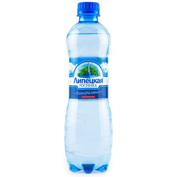 Вода минеральная питьевая Липецкая газированная