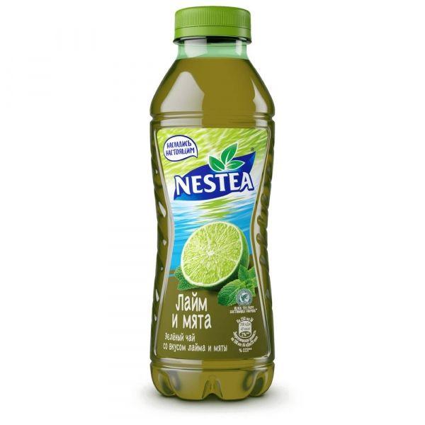 Чай зеленый Нести лайм и мята