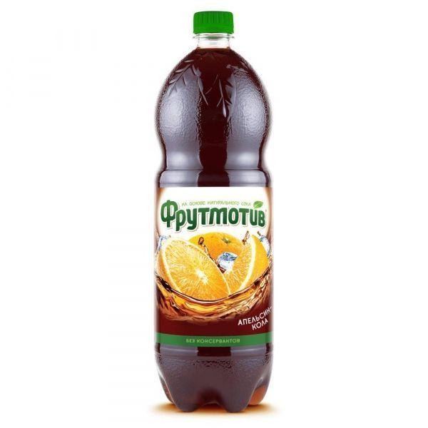 Напиток Фрутмотив Кола-Апельсин газированный