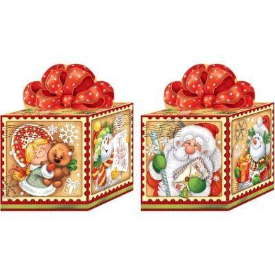 Новогодний подарок Винтаж картон