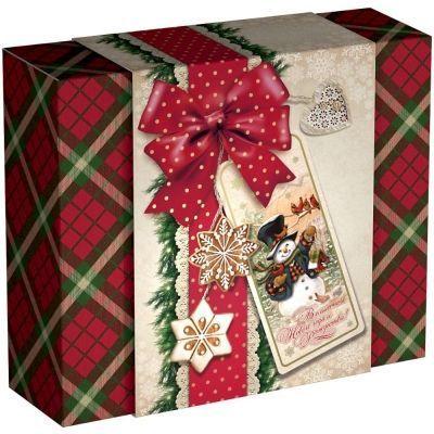 Новогодний подарок Волшебного Нового Года картон