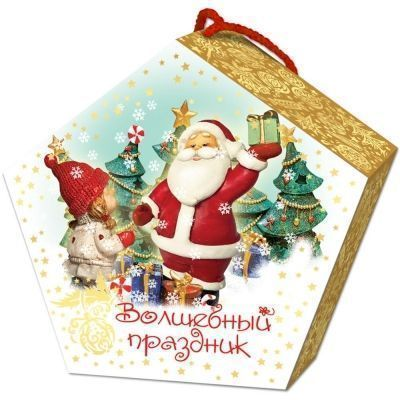 Новогодний подарок Волшебный праздник картон