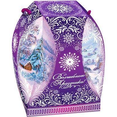 Новогодний подарок Зимняя сказка картон