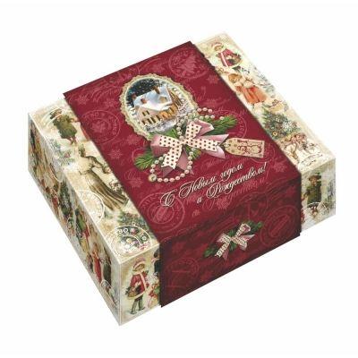 Новогодний подарок Новогодние истории картон