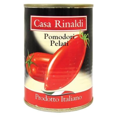 Помидоры Casa Rinaldi очищенные в томатном соке (поштучно)