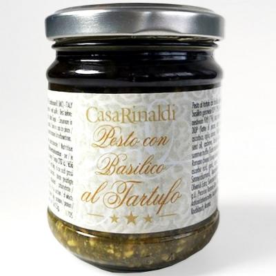 Крем-паста песто Casa Rinaldi Генуя в подсолнечном масле с трюфелем (поштучно)