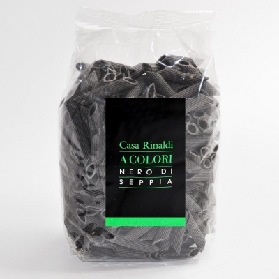Паста Casa Rinaldi Пенне  с чернилами каракатицы (поштучно)