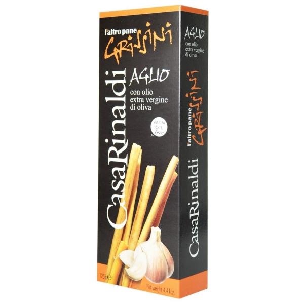 Хлебные палочки Casa Rinaldi Гриссини с чесноком (поштучно)