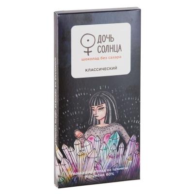 Шоколад на пекмезе 'Дочь Солнца' 60% какао классический