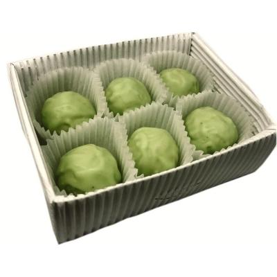 Трюфель ручной работы 'Бритарев' с зеленым чаем Матча и мятой