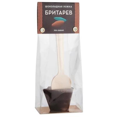 Шоколадная ложка для приготовления горячего шоколада 'Бритарев' классическая