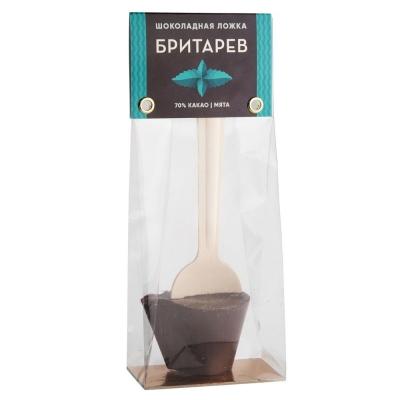 Шоколадная ложка для приготовления горячего шоколада 'Бритарев' Мята