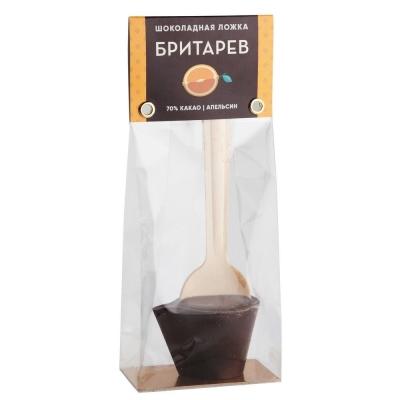 Шоколадная ложка для приготовления горячего шоколада 'Бритарев' Апельсин
