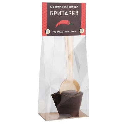 Шоколадная ложка для приготовления горячего шоколада 'Бритарев' Острый перец