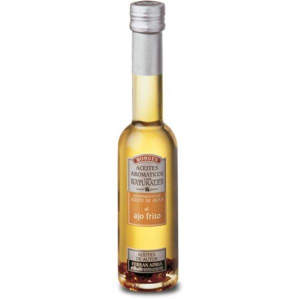 Масло оливковое Borges с жареным чесноком с/б
